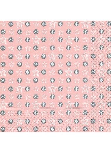 Dünya Style Little Stars Rose Peçete Renkli